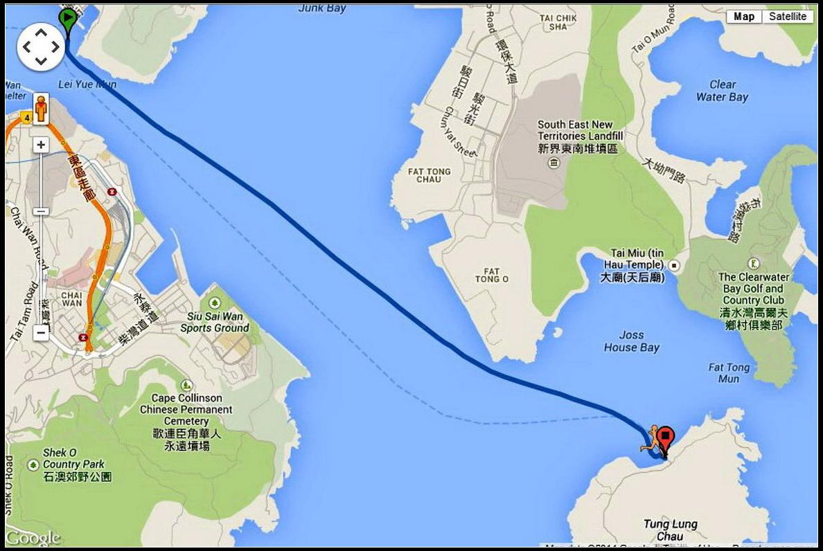 东龙洲又名东龙岛,是香港西贡区最南端的岛屿,位於清水湾半岛以南